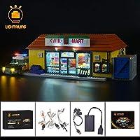 レゴ 71016 用 [アップグレードLEDライトキット+バッテリーボックス] ザシンプソンズ クイックEマート フルセット 16004