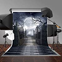 Andoer 写真背景 1 1.5m ハロウィン フェスティバル 写真背景 背景布 ビニール 写真 スタジオ小道具