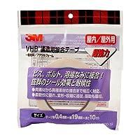 3M VHB構造用接合テープ Y4920 19X10 R Y4920-19X10