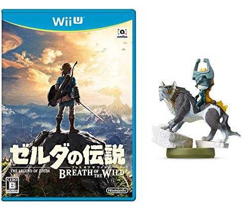 【Amazon.co.jp限定】ゼルダの伝説 ブレス オブ ザ ワイルド [Wii U]+amiibo ウルフリンク【トワイライトプリンセス】 (ゼルダの伝説シリーズ) +オリジナルステッカー (4種セット) 同梱