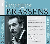 6 Original Albums by Georges Brassens