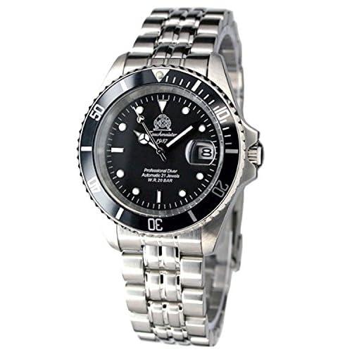 [トーチマイスター1937]Tauchmeister1937 腕時計 ドイツ製重厚 200M耐水圧 自動巻 ダイビング T0006 [並行輸入品]