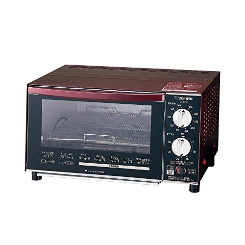 象印 オーブントースター 温度調節機能付き ボルドー ET-GT30-VD