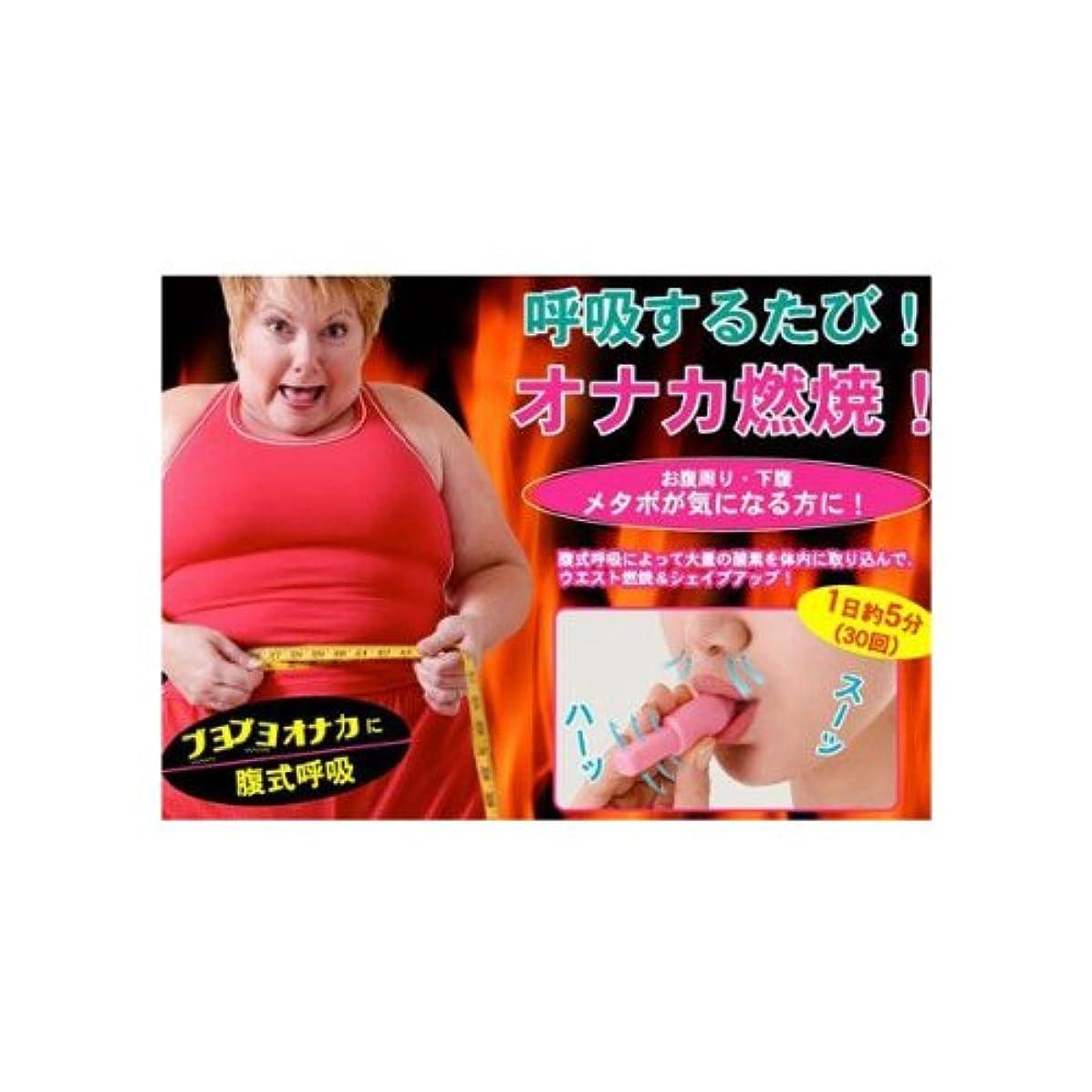 全体地球伝記腹式呼吸によってウエスト&エクササイズ!腹式呼吸ダイエット『カロリーブレス』
