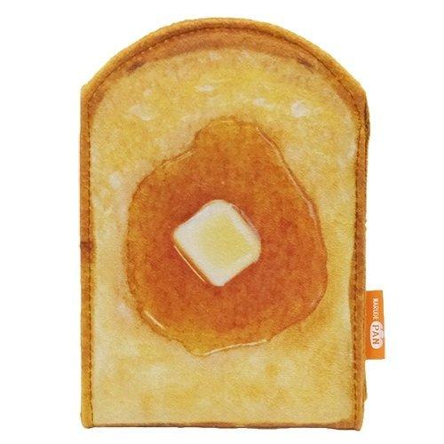 トースト[手鏡]まるでパンみたいなスタンドミラー/2nd 【メイプルバター 】