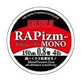 Rapala(ラパラ) ライン RAPizm-MONO 150m #0.8/4LB CLEAR RPZM150M08CL