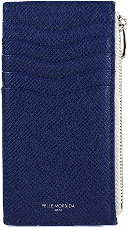 PELLE MORBIDA ペッレモルビダ カードケース付小銭入れ コインケース PMO-BA315 BLUE(ブルー)