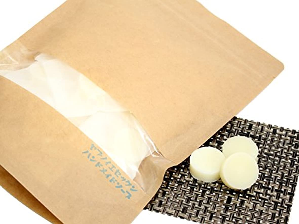 腸爆風乳製品ニコハンドメイドソープ24個入り(約4g)手作り仕上げの小さなディスク状のせっけん