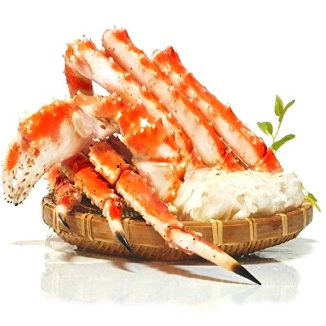 インデックス想定するかなりの黒帯 タラバガニ 脚 ギフトパック 天然 ボイル 本 たらば 蟹 かに 足 特大 良品選別済 (1kg:1kgx1肩入)
