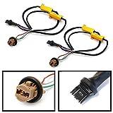iJDMTOY ( 2)ハイパーフラッシュ/電球アウトエラーFix配線アダプタfor 74437444t20LEDバルブウィンカーまたはテールブレーキライト