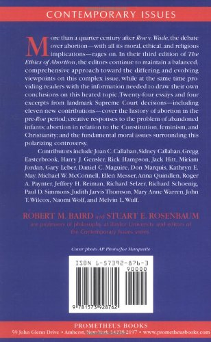 ethics of abortion The ethics of abortion [jennifer a hurley] -- includes the issues of abortion, late-term abortion and human embryo research home worldcat home about worldcat help search search for library items search for lists search for contacts search for a library create.