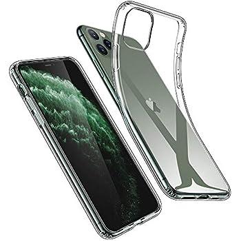 ESR iPhone 11 Pro Max ケース クリア ソフトケース アイホン 11 Pro Max カバー 薄型 透明TPU【指紋防止 黄変防止 衝撃吸収 耐傷性 安心保護 軽量 Qi急速充電対応】 6.5インチ iPhone 11 Pro Max 專用スマホケース(クリア)