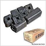 大雪 備長炭 (オガ炭) 1級品 5kg 持ち運びに便利な 5kg スリム箱