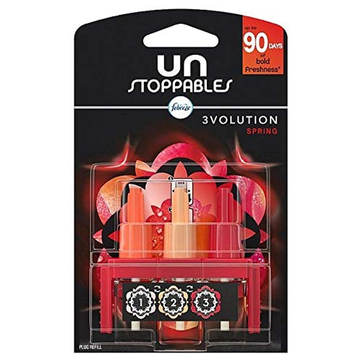 製油所自己徴収[Febreze] リフィル20ミリリットルでUnstoppables 3Volutionスプリングプラグ - Unstoppables 3Volution Spring Plug In Refill 20Ml [並行輸入品]