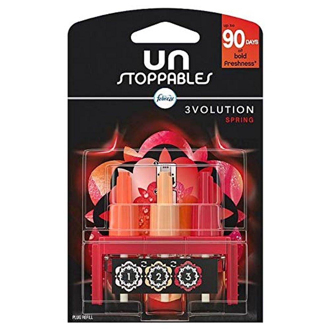 エチケット設計図ヤング[Febreze] リフィル20ミリリットルでUnstoppables 3Volutionスプリングプラグ - Unstoppables 3Volution Spring Plug In Refill 20Ml [並行輸入品]
