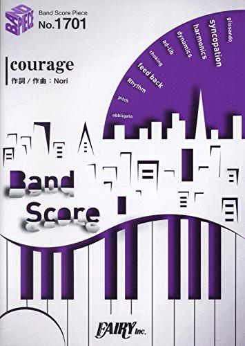 バンドスコアピースBP1701 courage / 戸松 遥 (Band score piece) Nori フェアリー