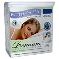 Protect-A-Bed Premium Waterproof Full XL Mattress Protector [並行輸入品]