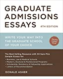 Graduate Admissions Essays, Fourth Edition: Write Your Way into the Graduate School of Your Choice (Graduate Admissions Essays: Write Your Way Into the) by Donald Asher(2012-07-24) 画像