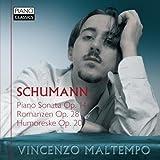 Schumann: Piano Sonata, Op. 14, Romanzen, Op. 28 & Humoreske, Op. 20 by Vincenzo Maltempo (2013-05-03)