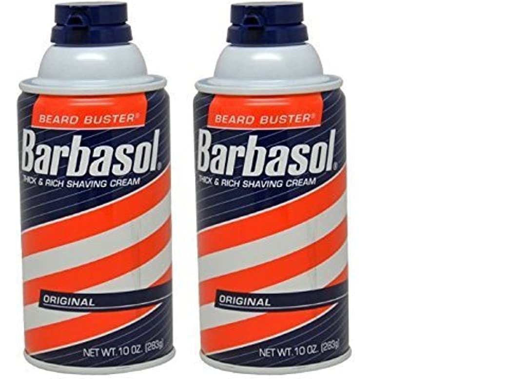 何か習熟度何よりもBarbasol Original Thick and Rich Cream Men Shaving Cream 10 Ounce (Pack of 2) [並行輸入品]