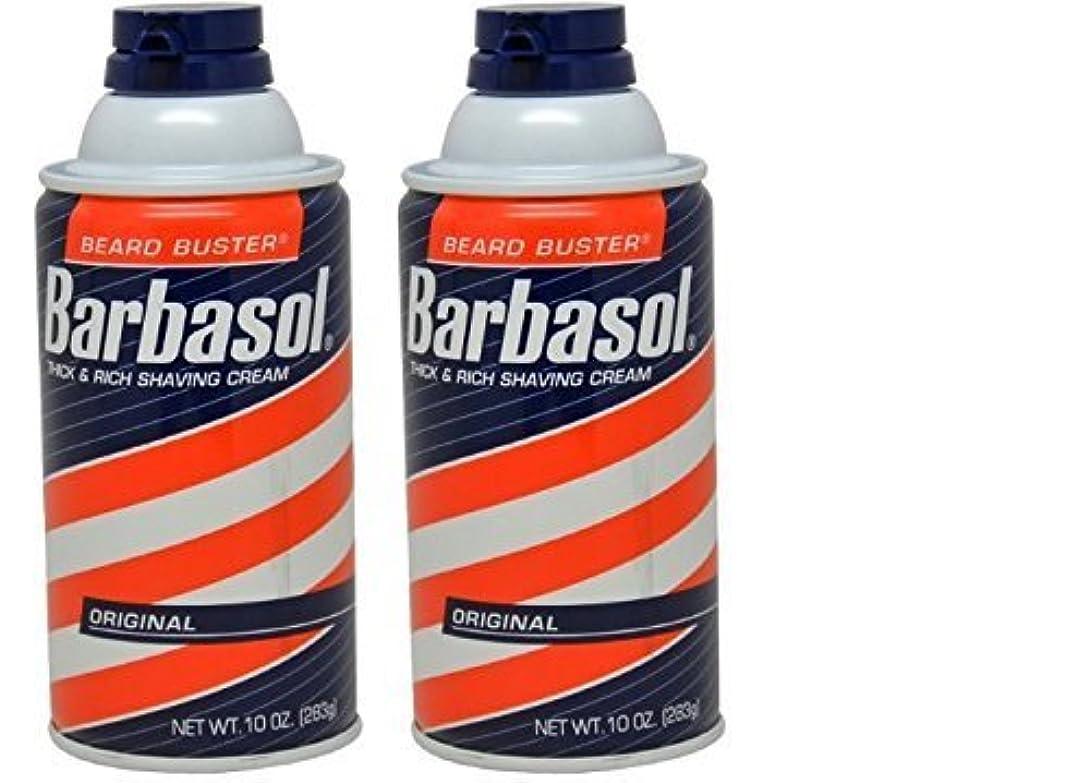 Barbasol Original Thick and Rich Cream Men Shaving Cream 10 Ounce (Pack of 2) [並行輸入品]