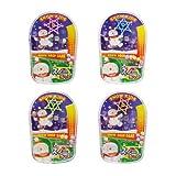 【クリスマス景品】スノーキッズ スノードロップゲーム(25個)  / お楽しみグッズ(紙風船)付きセット