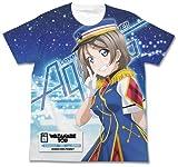 ラブライブ!サンシャイン!! 渡辺 曜フルグラフィックTシャツ HAPPY PARTY TRAIN Ver. ホワイト Lサイズ