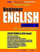 Preston Lee's Beginner English Lesson 21 - 40 For Dutch Speakers