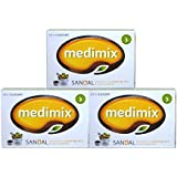 MEDIMIX メディミックス クラシックオレンジ石鹸3個セット(medimix sandal)