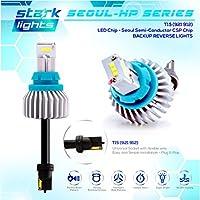 True 2400LM CSP High Power Reverse Back Up Light Bulb USE Only 6K White T15/912 921 [並行輸入品]