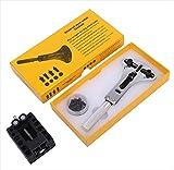 tomtask 大型 腕時計 対応 三点支持 オープナー 固定器 セット 工具 簡単 裏蓋 開閉
