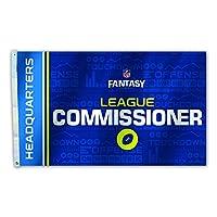 NFL Fantasy Footballフラグ、3' x 5' ブラック