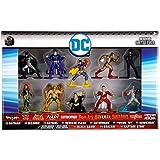 Jada DC Nano Metalfigs Batman, Bizarro, Batgirl, Flash, Catwoman Poisin Ivy, Hawkman, Black Adam, Shazam, Captain Atom