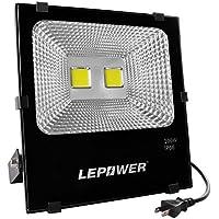LED投光器 フラッドライト 作業灯 100W 家庭用でもOK 屋外照明 演出照明 昼白色 スイッチ付き IP66防水防塵 18ヶ月保証 (昼白色100W)