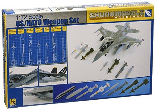 スカンクモデル 1/72 米軍/NATOウエポンセット GBU-39, AGM-154, GBU-24等 プラモデル