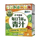 伊藤園 毎日1杯の青汁 粉末タイプ (フルーツミックス) 20包入×3箱セット