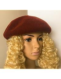 ウールベレー帽 厚 Nara thick beret 100% wool