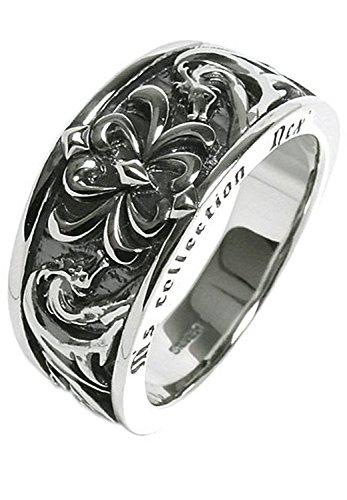 [エムズコレクション] M's collection [特 別 仕 様] トライバル ドラゴン メンズリング シルバー 925 10~27号 (27号) 指輪 メンズ 龍 竜