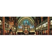 420ピース ジグソーパズル パズルの達人ワイドサイズ 静寂の聖堂 ノートルダム-カナダ スモールピース(18.2x51.5cm)