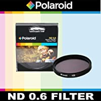 Polaroid Optics ND 0.6 Neutral Density Filter for the Olympus Evolt E - 30 , E - 300、E - 330、E - 410、E - 420、Eシリーズ、E - 500、E - 510、E - 520、e-600、E - 620、E - 1、E - 3、E - 5デジタルSLRカメラwhich haveこれらの任意の( 14 – 54 mm , 50 – 200 mm ) Olympusレンズ
