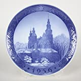 1956年 ロイヤルコペンハーゲン イヤープレート 「ローゼンボー城」【並行輸入品】