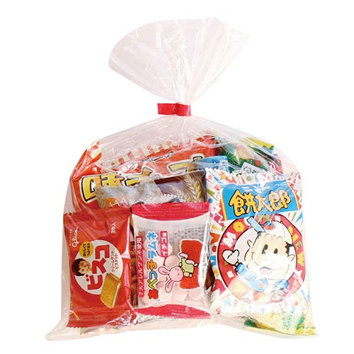 200円 お菓子 詰め合わせ(Cセット) 袋詰め(7種・計7コ) おかしのマーチ
