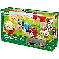 BRIO レールウェイ マイファースト バッテリーパワーレールセット 33710