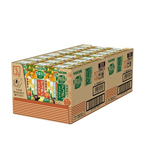 カゴメ 野菜生活100 デコポンミックス 195ml×24本
