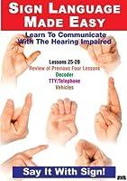 Sign Language Series 25-28 [DVD] [Import]