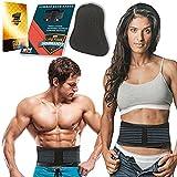 Lumbar & Lower Back Support Belt Brace Strap, Pain Relief, Posture Waist Trimmer (XL)