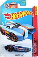 Hot Wheels 2015 Hw Race Team Blue Prototype H-24 134/250