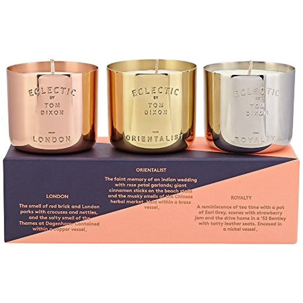 機転共役くつろぐTom Dixon Scented Candle Gift Set - トムディクソン香りのキャンドルギフトセット [並行輸入品]