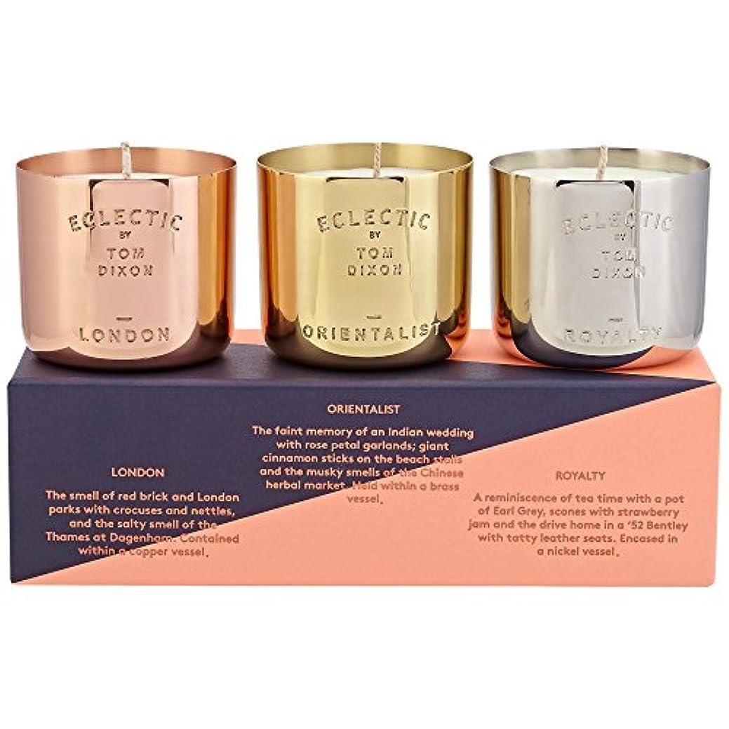 理容師違う船形Tom Dixon Scented Candle Gift Set - トムディクソン香りのキャンドルギフトセット [並行輸入品]