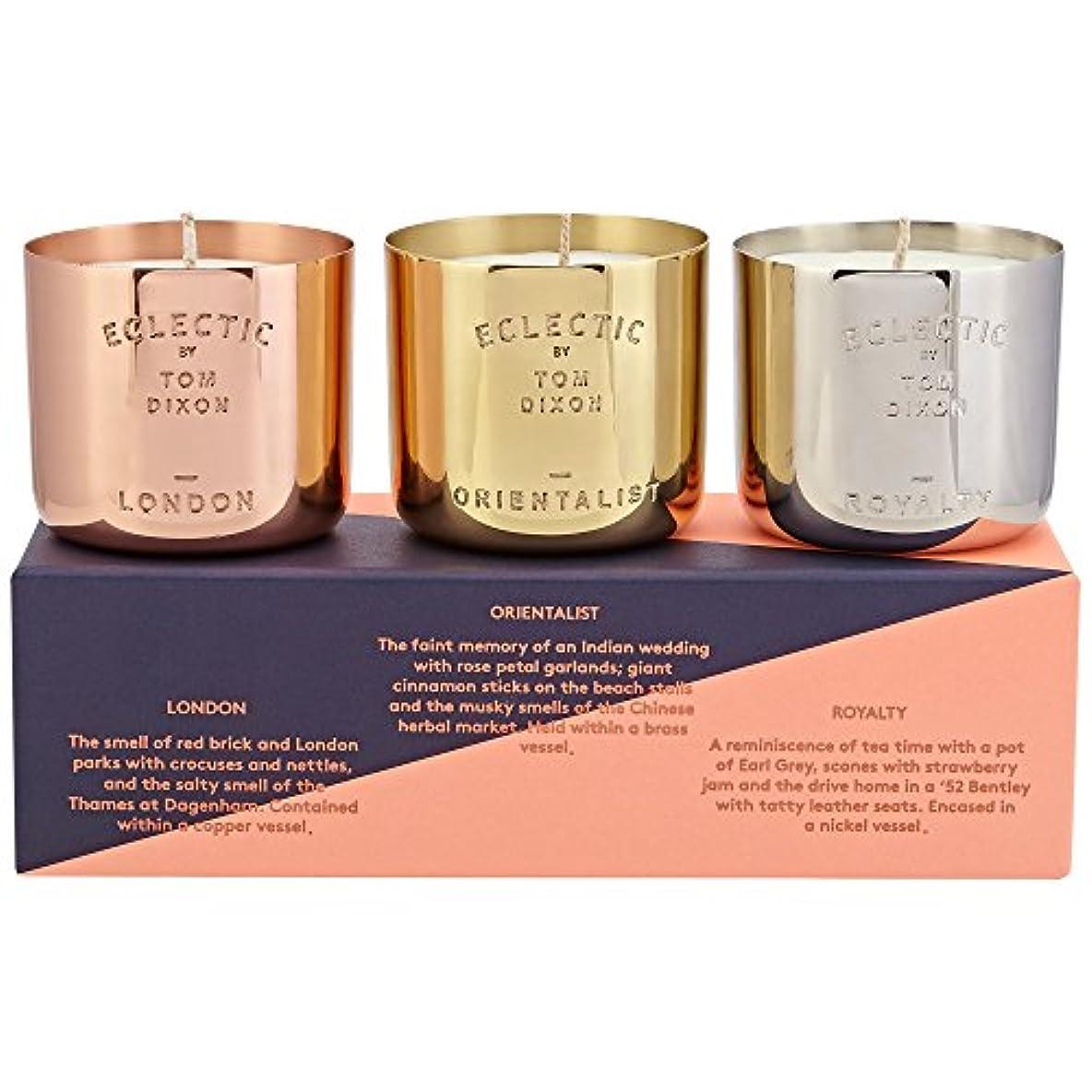 書き出す十ジャムTom Dixon Scented Candle Gift Set - トムディクソン香りのキャンドルギフトセット [並行輸入品]
